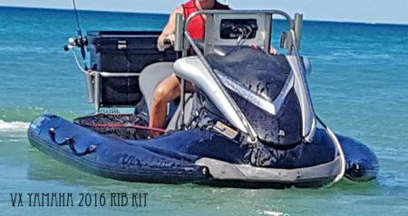 Yamaha VX inflatable sponson Dockitjet RIB kit
