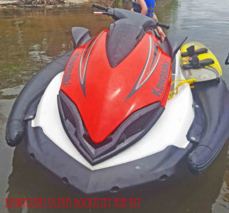 Kawasaki Ultra/LX inflatable sponson Dockitjet RIB kit