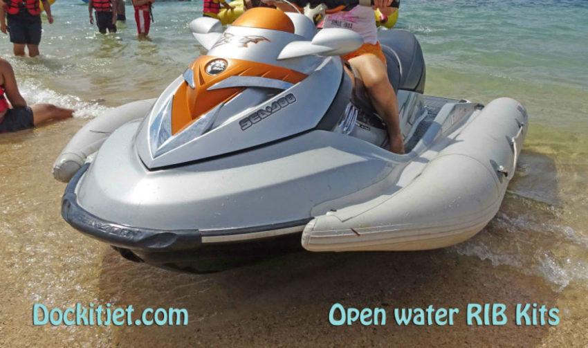 Seadoo RXT 2007 through 2017 inflatable sponson Dockitjet