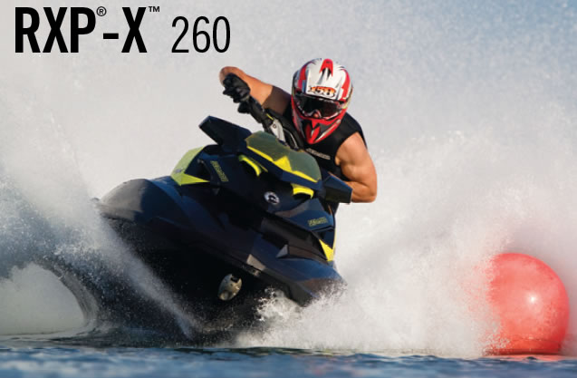 New 2012 Sea-Doo RXP-X 260 revealed