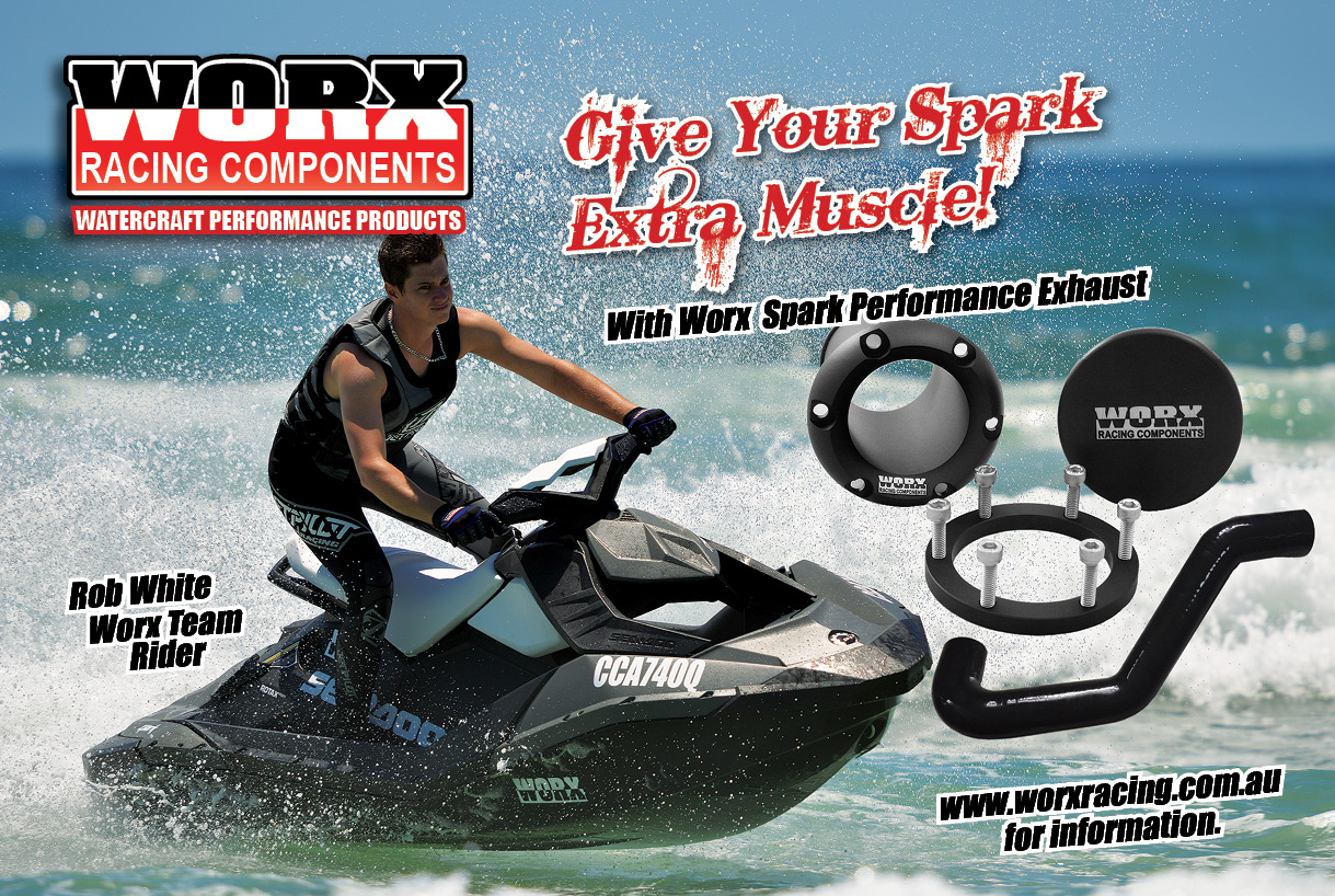 WORX LAUNCHES SEADOO SPARK REAR EXHAUST KIT - OZPWC - RIDE SAFEOZPWC