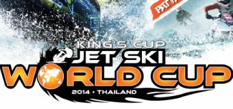 107 Days Countdown to King's Cup-Jet Ski World Cup 2014