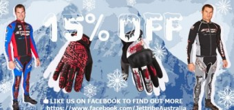 Jettribe Sale – 15% OFF wetsuits, gloves, moto jackets and pants!