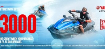 GEAR UP with up to $3000 of in-Store credit on selected WaveRunners