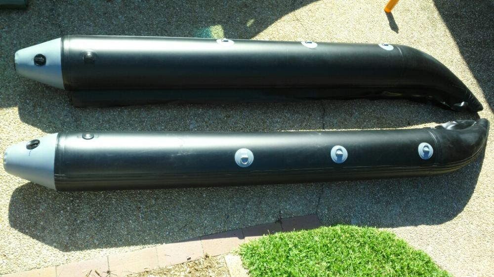 Yamaha Jet Ski For Sale >> Dockitjet 'Open Water' RIB inflatable sponson kits - OZPWC ...