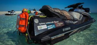Terra Australis duo heading back down the coast after aborting the world record attempt