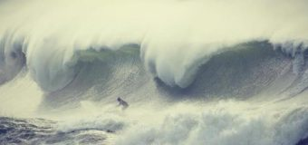 Keaton Watts conquers a beast at Terrigal on the Central Coast