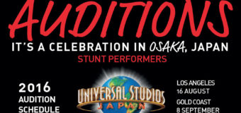Universal Studios Japan Auditions – 8 Sep Gold Coast