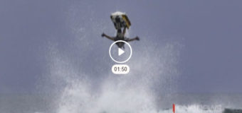 Kiwi jet-skier Tayne Lemon is out to make a name for himself on the world stage