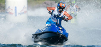 Greenland and Ellmers just outside top 5 in the Aquabike World Championship round 2 in Italy