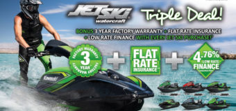 Triple Deal announced from Kawasaki on all 2018/2019 jetskis
