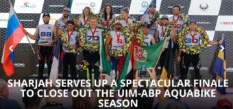 CHAMPIONS CROWNED IN 2018 AQUABIKE WORLD CHAMPIONSHIP  SHARJAH GP
