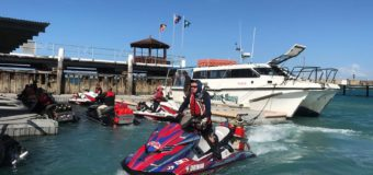 Jet ski charity ride from Australia to PNG … and back