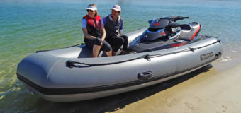 New inflatable PWC tender from Dockitjet