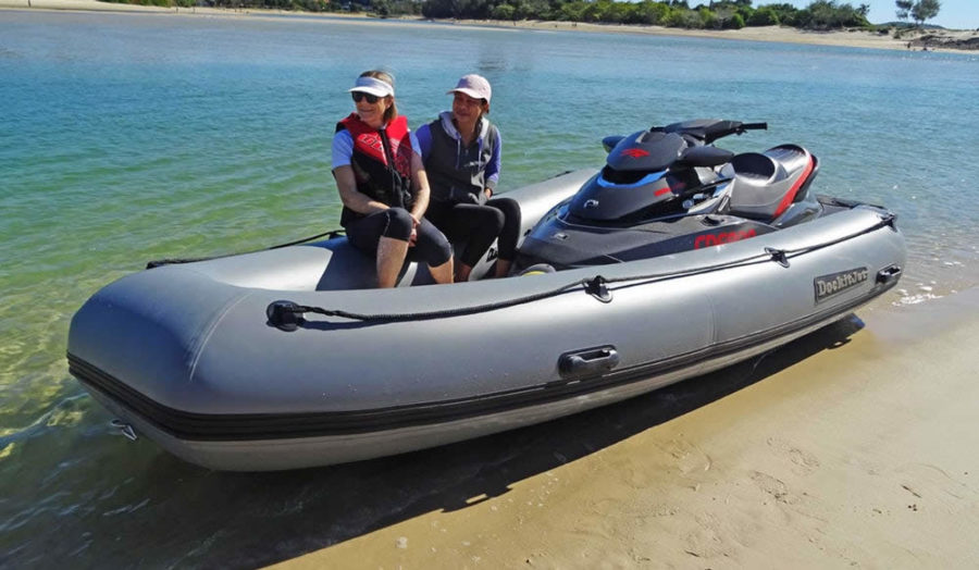 dockitjet 3.7m inflatable PWC tender