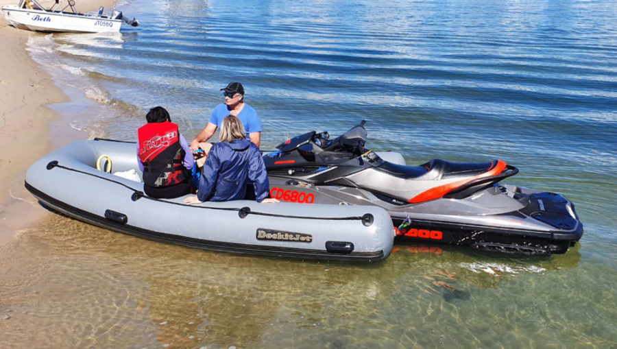 pwc powered inflatable tender
