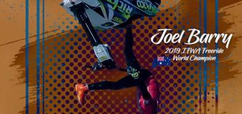 Joel Barry from Australia is the 2019 IFWA Freeride World Champion